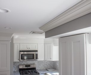 Crown Molding & Custom Cabinets