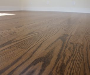 Refinished Wood Flooring